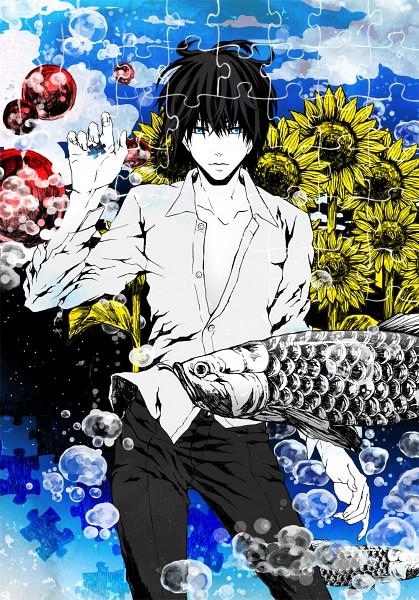 Tags: Anime, Getsumen Chakuriku, Puzzle Piece, Pixiv