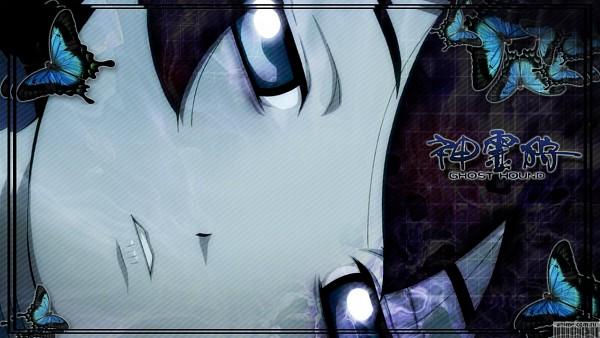 Tags: Anime, Ghost Hound, Komori Tarou's sister, Barcode, Wallpaper
