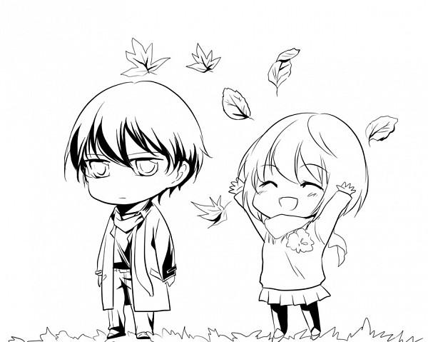 Tags: Anime, Bia, Ghost Hunt, Shibuya Kazuya, Taniyama Mai, Fanart, Pixiv