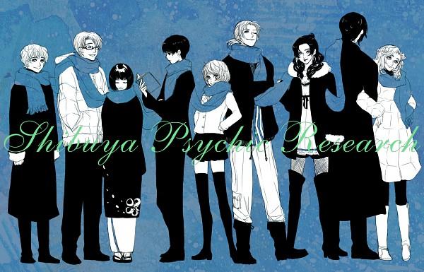 Tags: Anime, Pixiv Id 65718, Ghost Hunt, Hara Masako, Shibuya Kazuya, John Brown, Taniyama Mai, Matsuzaki Ayako, Takigawa Houshou, Yasuhara Osamu, Koujo Lin