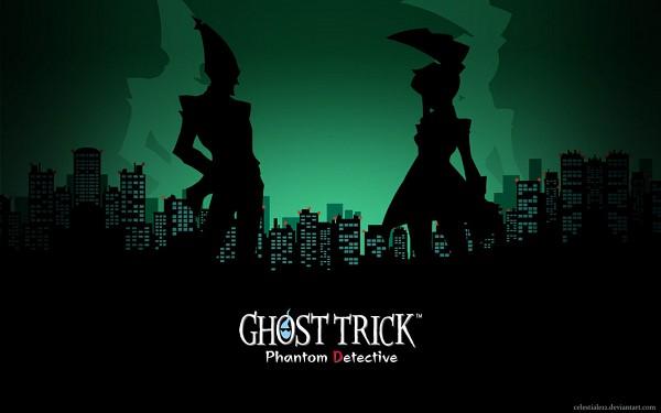 Tags: Anime, Ghost Trick: Phantom Detective, Yomiel, Lynne (Ghost Trick), Lynne, Wallpaper