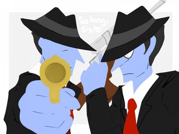 Tags: Anime, Ghost Trick: Phantom Detective, Tengo, Jeego
