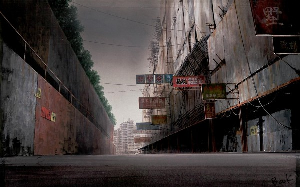 Tags: Anime, Koukaku Kidoutai GHOST IN THE SHELL, Ghost in the Shell (1995), No Character, 1440x900 Wallpaper, Dirt, Wallpaper