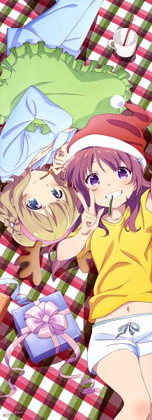 Tags: Anime, Diomedéa, Gi(a)rlish Number, Kugayama Yae, Karasuma Chitose (Girlish Number), Scan, Official Art