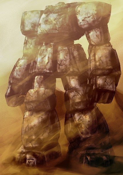 Giant Soldier Of Stone Image 247587 Zerochan Anime