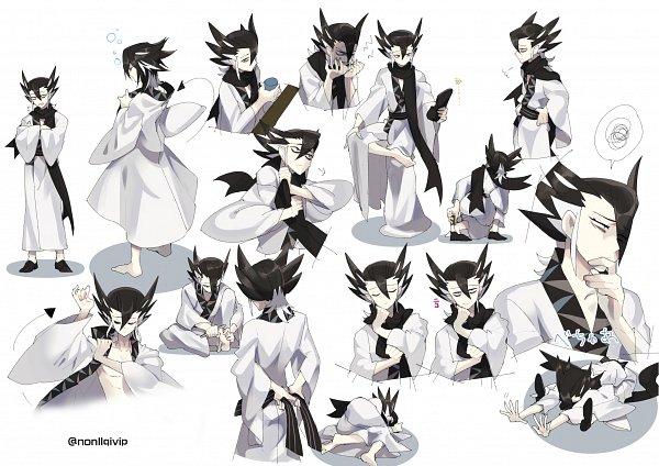 Tags: Anime, Nonllqivip, Pokémon Black & White, Pokémon, Giima, Fanart, Fanart From Pixiv, Pixiv, Grimsley