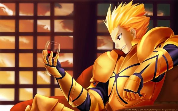 Tags: Anime, Fate/stay night, Gilgamesh, 2560x1600 Wallpaper, Wallpaper, HD Wallpaper