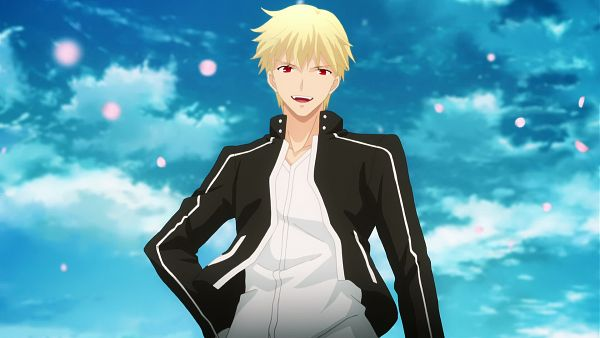 Tags: Anime, ufotable, Fate/stay night: Unlimited Blade Works, Gilgamesh, Majestic, King, Wallpaper, Screenshot