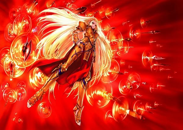 Tags: Anime, TYPE-MOON, Fate/stay night, Gilgamesh, Gate of Babylon