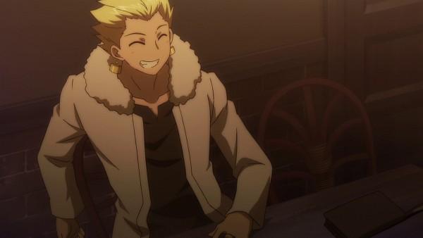 Tags: Anime, TYPE-MOON, Carnival Phantasm, Gilgamesh, Gold (Metal), Slicked Back Hair, King, Screenshot, Wallpaper, HD Wallpaper, Facebook Cover