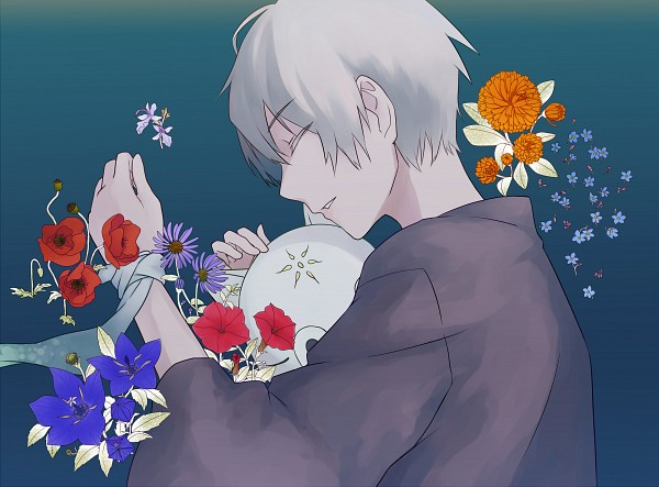 Tags: Anime, Pixiv Id 2808916, Hotarubi no Mori e, Gin (Hotarubi no Mori e), Poppy, Fanart, Pixiv