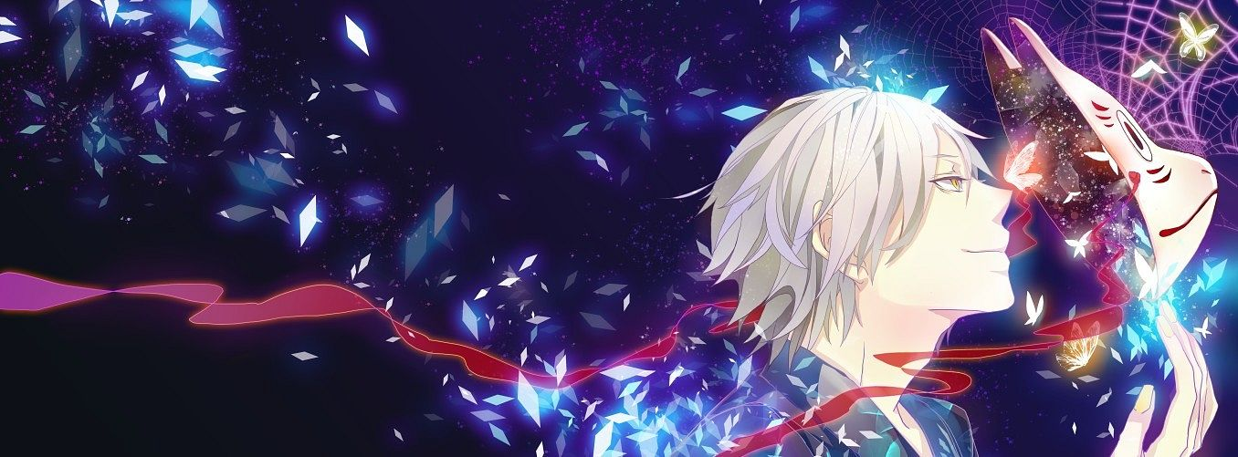 Tags: Anime, Pixiv Id 1027338, Hotarubi no Mori e, Gin (Hotarubi no Mori e), Spider Web, Fanart, Pixiv