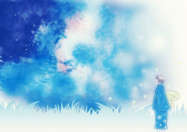 Tags: Anime, Hotarubi no Mori e, Gin (Hotarubi no Mori e), Fanart, Artist Request