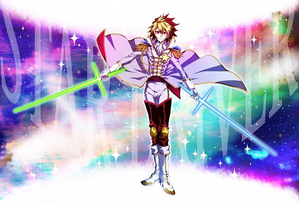 Tags: Anime, Lionfish, Star Driver, Ginga Bishounen, Tsunashi Takuto, Pixiv, Fanart