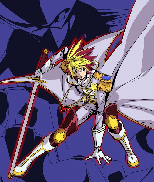 Tags: Anime, Pixiv Id 2844277, Star Driver, Tsunashi Takuto, Ginga Bishounen, Tauburn, Pixiv, Fanart