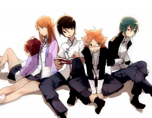 Tags: Anime, Kittyon03, Ginga Kikoutai Majestic Prince, Asagi Toshikazu, Irie Tamaki, Hitachi Izuru, Kugimiya Kei, Suruga Ataru, Pixiv, Majestic Prince