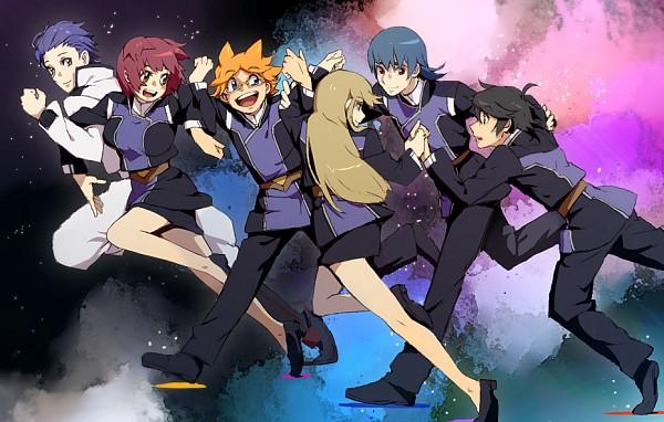 Tags: Anime, Pixiv Id 8221740, Ginga Kikoutai Majestic Prince, Kuroki Ange, Asagi Toshikazu, Hitachi Izuru, Irie Tamaki, Kugimiya Kei, Suruga Ataru, Pixiv, Majestic Prince