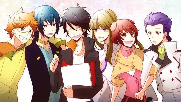 Tags: Anime, Pixiv Id 2815328, Ginga Kikoutai Majestic Prince, Kuroki Ange, Asagi Toshikazu, Hitachi Izuru, Irie Tamaki, Kugimiya Kei, Suruga Ataru, Sketchbook, Pixiv, Majestic Prince
