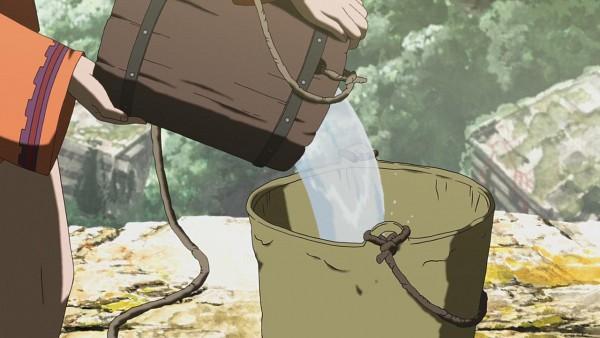 Tags: Anime, Giniro no Kami no Agito, Origins: Spirits Of The Past, Bucket, Wallpaper