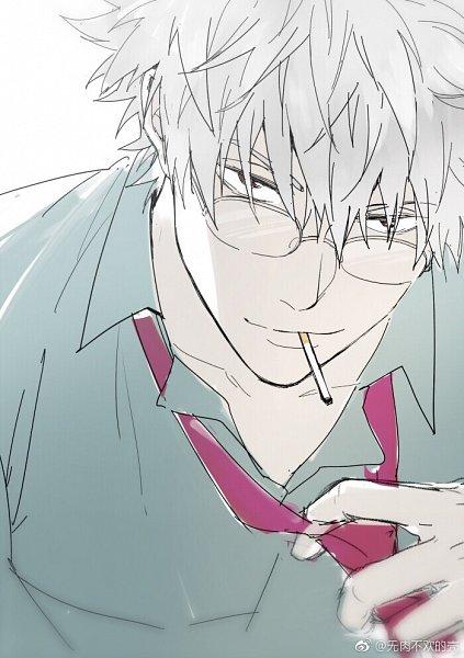 Tags: Anime, Feiqiuxuan, Gintama, Ginpachi-sensei, Sakata Gintoki, 3z, Fanart