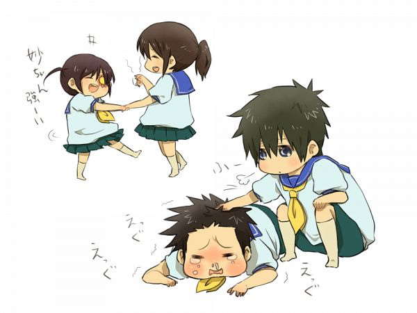 Tags: Anime, Pixiv Id 1766335, Gintama, Hijikata Toushirou, Kondo Isao, Shimura Tae, Yagyuu Kyuubei, PNG Conversion, Pixiv, Fanart, Fanart From Pixiv, KyuuTae