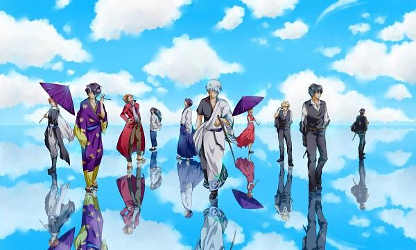 Tags: Anime, Pixiv Id 579634, Gintama, Takasugi Shinsuke, Shimura Shinpachi, Sakata Gintoki, Kondo Isao, Katsura Kotaro, Kamui (Gin Tama), Okita Sougo, Kagura (Gin Tama), Hijikata Toushirou, Sakamoto Tatsuma, Silver Soul