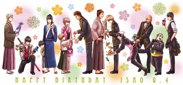Tags: Anime, Eriyama, Gintama, Okita Sougo, Sasaki Tetsunosuke, Okita Mitsuba, Hijikata Toushirou, Yamazaki Sagaru, Tosshi, Kondo Isao, Harada Unosuke, Itou Kamotarou, Pixiv, Silver Soul