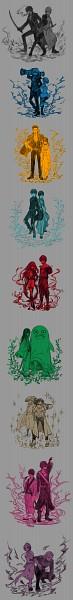 Tags: Anime, Pixiv Id 884134, Gintama, Sakata Gintoki, Shimura Tae, Okita Sougo, Kondo Isao, Kagura (Gin Tama), Mutsu (Gin Tama), Hijikata Toushirou, Sakamoto Tatsuma, Ko Elizabeth, Kawakami Bansai, Silver Soul