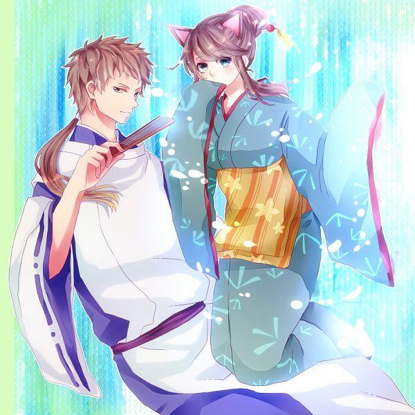Tags: Anime, Pixiv Id 1260892, Gintama, Ketsuno Seimei, Kuzunoha (Gin Tama), Fanart, Fanart From Pixiv, PNG Conversion, Pixiv, Silver Soul