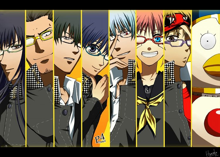 Tags: Anime, Pixiv Id 2370329, Gintama, Ko Elizabeth, Okita Sougo, Kondo Isao, Hijikata Toushirou, Kagura (Gin Tama), Sakata Gintoki, Shimura Shinpachi, Katsura Kotaro, Persona (Parody), Shin Megami Tensei: PERSONA 4 (Parody), Silver Soul