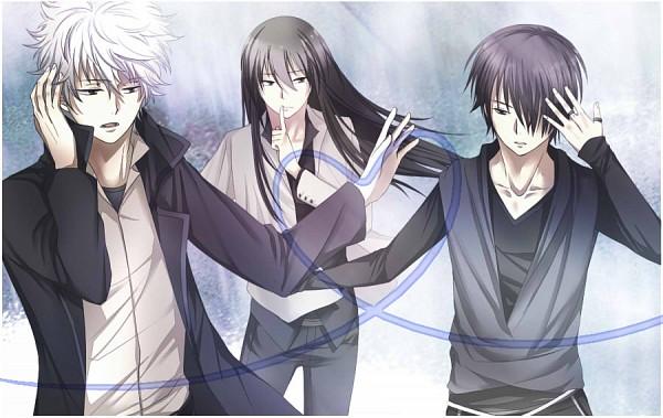 Tags: Anime, Pixiv Id 2750004, Gintama, Katsura Kotaro, Takasugi Shinsuke, Sakata Gintoki, Fanart, Pixiv, Fanart From Pixiv, Joui, Silver Soul
