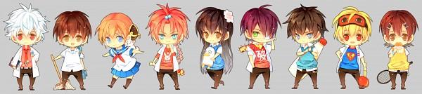 Tags: Anime, A-sa, Gintama, Okita Sougo, Kamui (Gin Tama), Hijikata Toushirou, Kagura (Gin Tama), Takasugi Shinsuke, Ginpachi-sensei, Shimura Shinpachi, Sakata Gintoki, Ko Elizabeth, Katsura Kotaro, Silver Soul