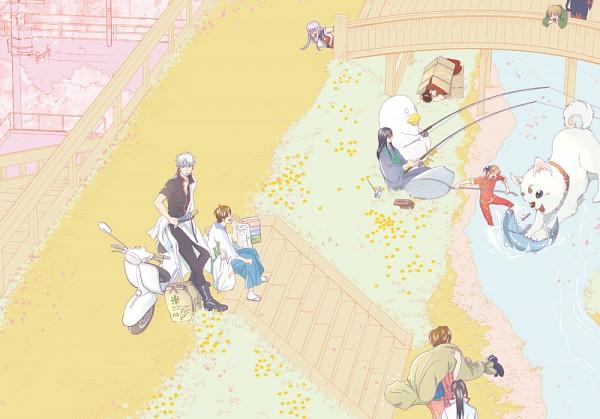 Tags: Anime, Pixiv Id 1731899, Gintama, Ko Elizabeth, Sarutobi Ayame, Yagyuu Kyuubei, Hasegawa Taizou, Shimura Tae, Katsura Kotaro, Kagura (Gin Tama), Sakata Gintoki, Kondo Isao, Tsukuyo, Silver Soul