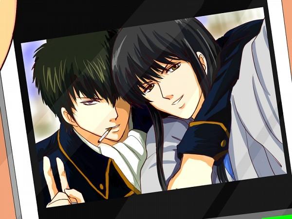 Tags: Anime, Pixiv Id 6491315, Gintama, Katsura Kotaro, Hijikata Toushirou, Pixiv, Fanart From Pixiv, Fanart, HijiZura, Silver Soul