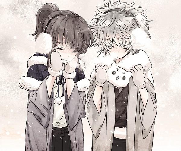 Tags: Anime, Higuchi00, Gintama, Katsura Kotaro, Sakata Gintoki, Fanart, Pixiv, Fanart From Pixiv, Silver Soul