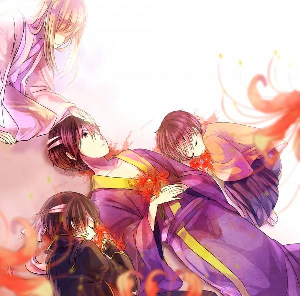 Tags: Anime, Pixiv Id 687027, Gintama, Yoshida Shouyou, Takasugi Shinsuke, Joui War, Fanart