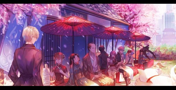 Tags: Anime, IzILIer, Gintama, Okita Sougo, Shimura Tae, Hijikata Toushirou, Tojo Ayumu, Kagura (Gin Tama), Sakata Gintoki, Kondo Isao, Shimura Shinpachi, Soyo Hime, Sadaharu, Silver Soul