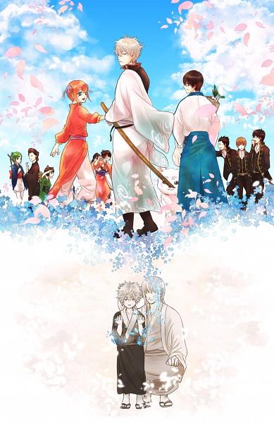 Tags: Anime, Arima89, Gintama, Shimura Shinpachi, Tama (Gin Tama), Kondo Isao, Yagyuu Kyuubei, Sadaharu, Okita Sougo, Catherine (Gin Tama), Shimura Tae, Hijikata Toushirou, Kagura (Gin Tama), Silver Soul