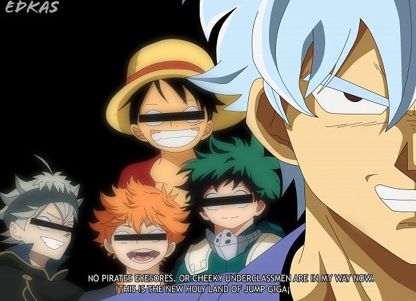 Tags: Anime, Gintama, Black Clover, Haikyuu!!, Boku no Hero Academia, ONE PIECE, Hinata Shouyou, Sakata Gintoki, Midoriya Izuku, Monkey D. Luffy, Asta (Black Clover), Haikyuu!! (Cosplay), Silver Soul