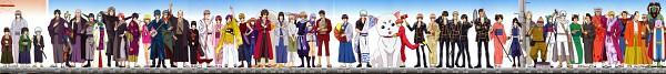 Tags: Anime, Gintama, Yoshida Shouyou, Kawakami Bansai, Sarutobi Ayame, Saigou Tokumori, Otose (Gin Tama), Mutsu (Gin Tama), Yagyuu Kyuubei, Pandemonium (Gin Tama), Kondo Isao, Hedoro (Gin Tama), Prince Hata, Silver Soul