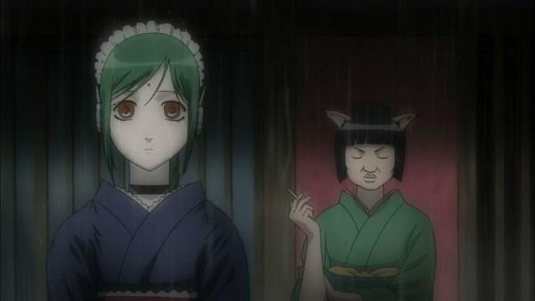 Tags: Anime, Gintama, Catherine (Gin Tama), Tama (Gin Tama), Screenshot, Silver Soul