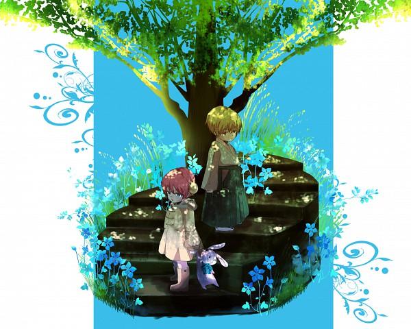 Tags: Anime, Pixiv Id 1997396, Gintama, Kagura (Gin Tama), Okita Sougo, Chuld, Pixiv, Fanart, OkiKagu