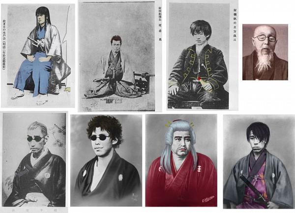 Tags: Anime, Gintama, Shimura Shinpachi, Saigou Tokumori, Katsura Kotaro, Matsudaira Katakuriko, Hijikata Toushirou, Kondo Isao, Takasugi Shinsuke, Sakamoto Tatsuma, Silver Soul