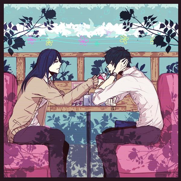 Tags: Anime, Pixiv Id 2851155, Gintama, Katsura Kotaro, Hijikata Toushirou, Fanart, Pixiv, HijiZura, Silver Soul