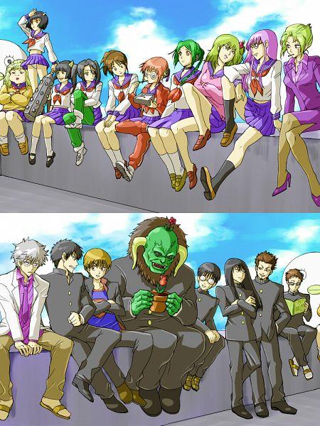 Tags: Anime, mm, Gintama, Yagyuu Kyuubei, Kijima Matako, Sarutobi Ayame, Gedoumaru, Katsura Kotaro, Catherine (Gin Tama), Kimiko (Gin Tama), Shimura Tae, Tama (Gin Tama), Okita Sougo, Silver Soul