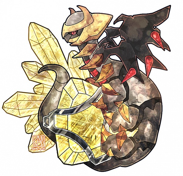 Tags: Anime, Pixiv Id 2433209, Pokémon, Giratina, Pixiv, Fanart From Pixiv, Fanart, Legendary Pokémon