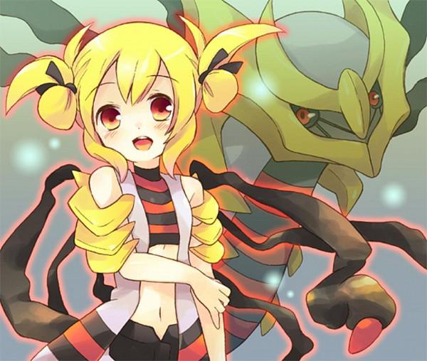 Tags: Anime, Tachitsu Teto, Pokémon, Giratina, Legendary Pokémon