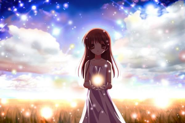 Tags: Anime, Pixiv Id 147331, Clannad: After Story, CLANNAD, Girl from the Illusionary World, Furukawa Nagisa, Okazaki Ushio