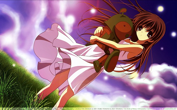 Tags: Anime, KEY (Studio), CLANNAD, Girl from the Illusionary World, Garbage Doll, Okazaki Ushio, Wallpaper