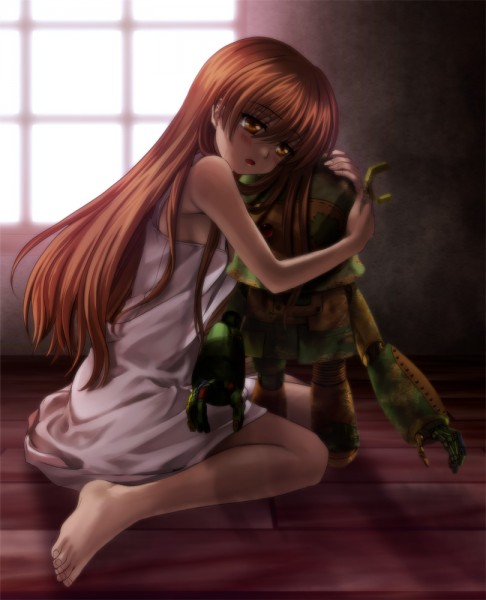 Tags: Anime, Moonknives, CLANNAD, Girl from the Illusionary World, Garbage Doll, Pixiv, Fanart